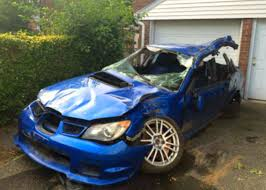 blue subaru hatchback subaru crash live compilation impreza sti sedan and hatchback