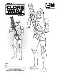 Wars Clone Coloring Pages Wars Clone Coloring Pages