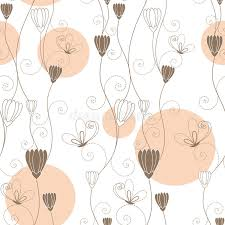 abstract pattern butterfly abstract floral butterfly seamless pattern stock vector