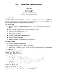 Resume Examples It by Security Job Resumes Examples Resume For Your Job Application