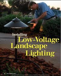Installing Low Voltage Landscape Lighting Low Voltage Landscape Lighting Homebuilding