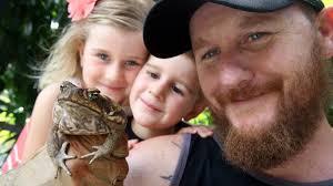 cane toad found in lake illawarra garden illawarra mercury