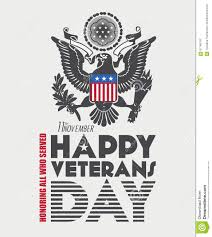 11th november happy veterans day wishes card