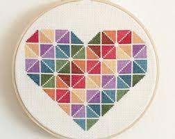 cross stitch kit etsy