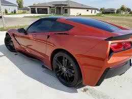 2015 corvette stingray prices 2015 corvette stingray with z51 daytona orange