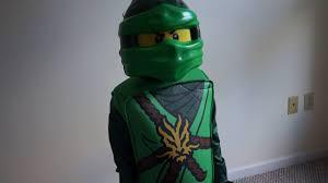 ninja costume for halloween lego ninjago lloyd deluxe kids costume halloween cosume youtube