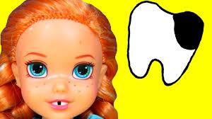 dentist sugar bugs anna toddler loses a tooth afraid of