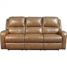 Ashley Furniture Loveseat Recliner Ashley Furniture Roogan Reclining Power Sofa In Blondie Local