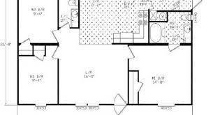 Double Wide Homes Floor Plans 30 Delightful Double Wide Mobile Home Floor Plans Uber Home
