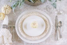 easy and place setting ideas for the best thanksgiving table