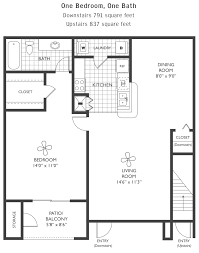 Upstairs Floor Plans by The Park At Valenza Floorplans