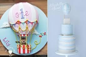 hot air balloon cake topper hot air balloon cakes cake magazine