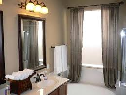 bathroom paint colors gray tile variants with oak cabinets dark