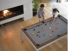 Pool Table Converts To Dining Table by Rustic Pool Table Shown In A 7 U0027 English Pool Table With Birch