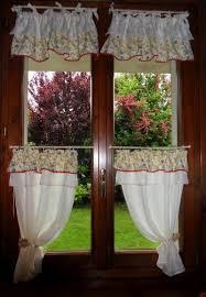 Mantovane Per Tende Fai Da Te by Stunning Tende Per Cucina Classica Photos Home Interior Ideas