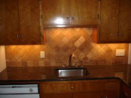 kitchen backsplash travertine tumbled travertine backsplash on diagonal layout course