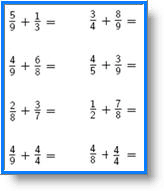 collections of math fractions worksheet wedding ideas