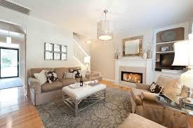 Modern Single Wooden Sofa Natural Wood Frame Glazed Windows Feminine Living Room Sectional