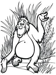 coloring pages jungle animal printables baby jungle animal