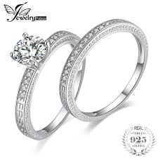 bridal sets jewelrypalace vintage 1 3ct anniversary wedding band engagement
