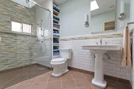 practical doorless shower designs home decor inspirations