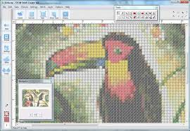 convert photo to a cross stitch pattern stoik
