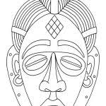 african mask coloring sheets crayola photo african mask coloring