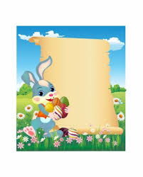 easter letter template easter bunny letter example personalized