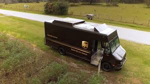 ups tests launching drones from delivery trucks abc news