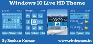 windows 10 themes for nokia asha 210 windows 10 live hd theme for nokia c1 01 c1 02 c2 00 107 108
