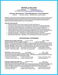 Sales Management Resume Marvelous Things To Write Best Business Development Manager Resume
