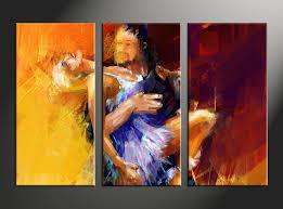 3 piece modern salsa yellow pictures home decor 3 piece canvas arts salsa canvas arts modern huge canvas art