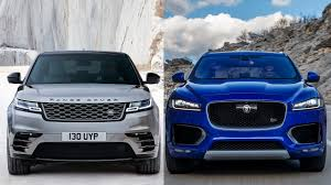 jeep range rover 2018 2018 range rover velar vs 2017 jaguar f pace youtube