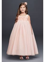 country wedding flower dresses flower dresses in various colors styles david s bridal