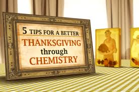 the chemistry of thanksgiving dinner explained