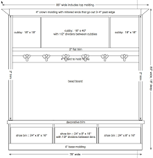 mud room dimensions sle dimensions of mudroom cubbies pinterest
