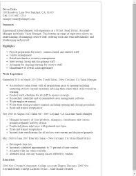 resume for hairstylist assistant media entertainment resume