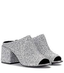 bead embellished sandals mm6 maison margiela mytheresa com