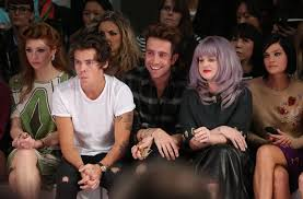 Style Ellie Goulding Harry Styles Nick Grimshaw Ellie Goulding On The Front Row At Lfw