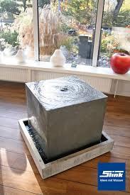 design zimmerbrunnen zimmerbrunnen zinkart quader indoor zinkquader brunnen für drinnen