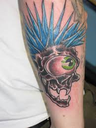 amazing skull tattoos 65 great punk tattoos designs and ideas golfian com