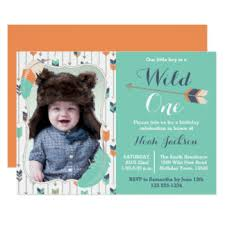 wild one invitations u0026 announcements zazzle