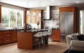 shaker style kitchen cabinets south africa 11 x 14 nutmeg brown shaker kitchen cabinet door sle vanity ebay