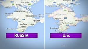 google maps annexes crimea in russia cnn video