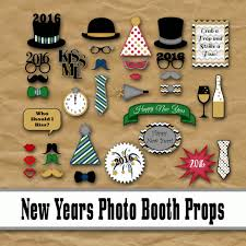 Photo Booth Props For Sale 2016 New Years Eve Photo Booth Props Glitter U0027n Spice