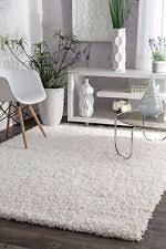Modern Shag Area Rugs White Shag Flokati Area Rugs Ebay