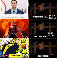 Duke Memes - duke nukem is also apparently a captain planet character meme by
