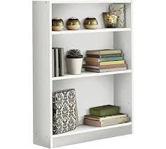 Bookcase Cupboard Homcom Wooden Wood 2 Tier Storage Unit Chest Bookshelf Bookcase