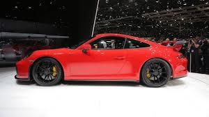 2018 porsche 911 gt3 gets 500 hp 4 0 liter engine six speed manual