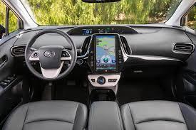 Interior Of Toyota Prius Test Drive 2017 Toyota Prius Prime J D Power Cars